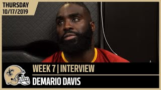 Demario Davis, 'Every Week There's Room for Improvement' | New Orleans Saints Football