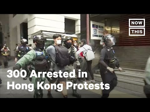 300 Arrested in Pro-Democracy Hong Kong Protests | NowThis