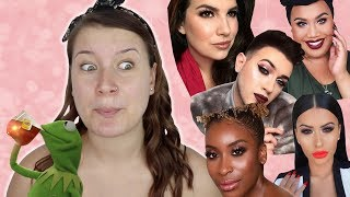 FULL FACE OF MAKEUP THAT BEAUTY GURUS MADE