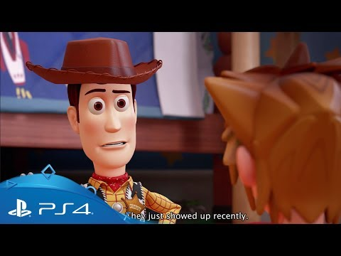 Kingdom Hearts III | D23 2017 Toy Story-trailer | PS4