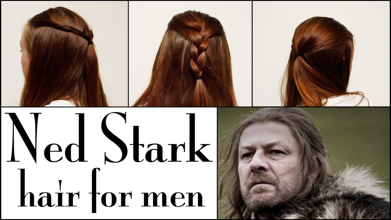 Game Of Thrones Hair For Men Ned Stark Youtube