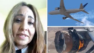 'I thought it was a bomb' - Boeing 777 passengers feared for their lives after plane engine failure