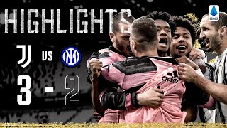 Juventus 3-2 Inter Milan | Cuadrado scores dramatic late winner! | Serie A Highlights