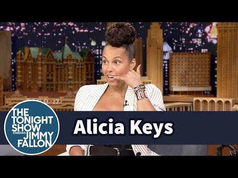 Alicia Keys Had to Call Prince to Cover
