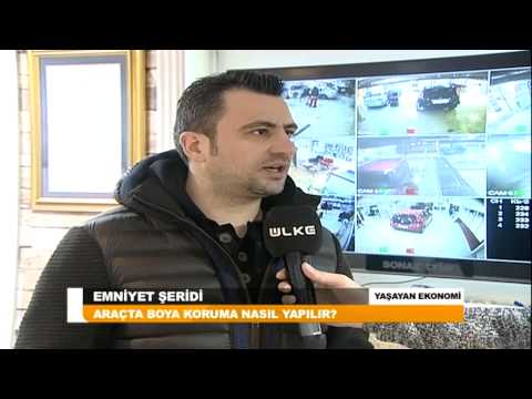 SONAX Boya Koruma - Ülke Tv Emniyet Şeridi Programı