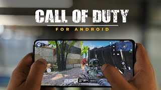 Call of Duty Mobile for Android: First Look!