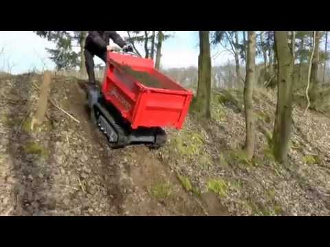 ACE 1000 a 1000 Kg payload tracked dumper