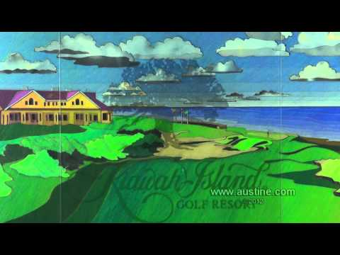 """Kiawah"" Interactive Polage® Art for Maui Jim Sunglasses"