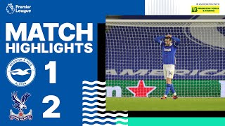 PL Highlights: Albion 1 Crystal Palace 2