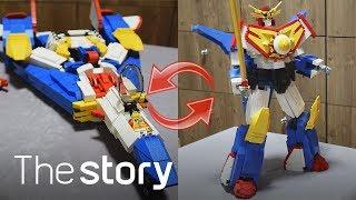 lego transformer - Perfect transformation of Lego Brave robot!(ENG sub)