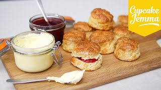 How to make perfect English Scones   Cupcake Jemma