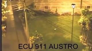 Moment 8.0 Earthquake Strikes Laguna, Peru / CCTV