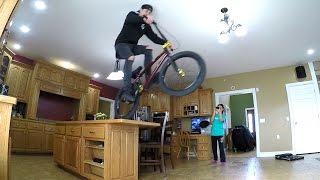 CRAZY INDOOR BMX!!