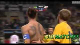 Zlatan Ibrahimovic  bicycle kick  Goal Vs England