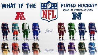 If NFL Teams Played Hockey! Jerseys Ranked 1-32