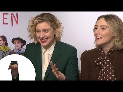 """""""Fries with Meryl!"""" Saoirse Ronan and Greta Gerwig on Little Women and fast food 