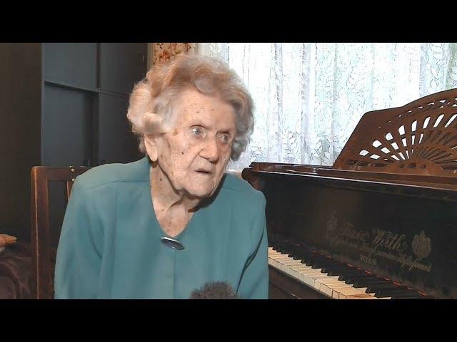 波蘭108歲人瑞鋼琴家 每日堅持琴聲相伴