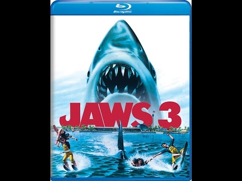 Jaws 3-D 2K Remastered Blu Ray Edition Side by Side
