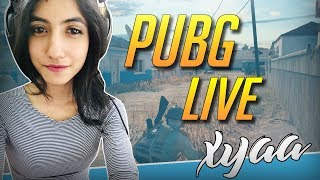 Day 1 of new schedule :P | PUBG PC Livestream India | Xyaa