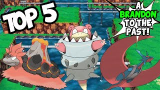 Top 5 WORST Pokemon Omega Ruby Alpha Sapphire Mega Evolution Designs