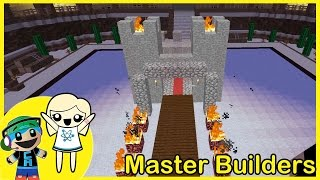 Master Builders Building Mini Game with Cybernova - MEH CASTLE - Minecraft