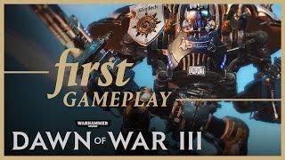 Warhammer 40000: Dawn of War III - Pre-alpha Gameplay Footage