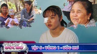 Hát mãi ước mơ 3 TẬP 5 Vòng 1:Tấm lòng cao cả của cô bé bị tai nạn container vẫn quyết hát cứu người
