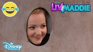 Liv And Maddie | Muffler-A-Rooney 😂 | Disney Channel UK