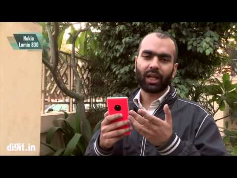Nokia Lumia 830 With Pros  cons Rating Hindi Review