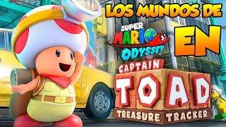 ¡Niveles de Super Mario Odyssey! - Captain Toad en Español (Switch) Naishys y DSimphony