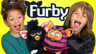 KIDS REACT TO FURBY