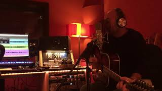 Dave - Christmas song - Blue Christmas - studio recording