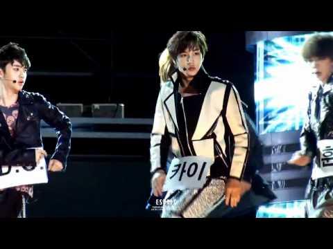 120512 EXO-K Sorry sorry rehearsal - DC