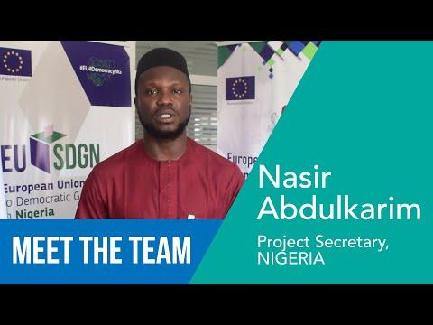Abdulkarim Nasir - Project Secretary, NIGERIA