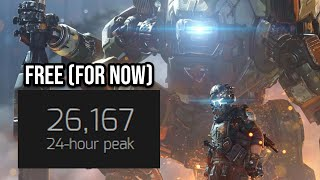 Titanfall 2 is Free and at it's HIGHEST player count. Go Play It