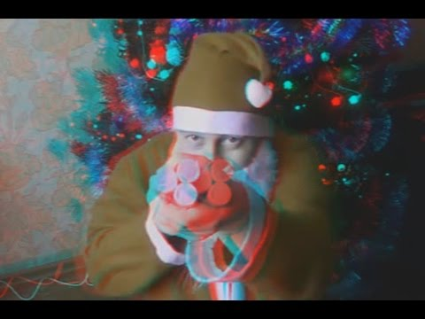 Happy New Year 2017 ! Greetings from SANTA CLAUS ! 3D VIDEO