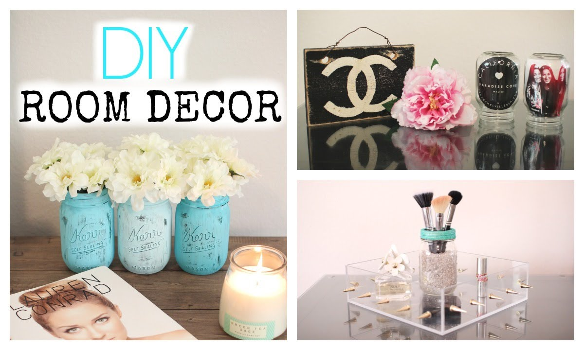 Cute Diy Home Decor Ideas: DIY Mason Jar Room Decor! Cute & Affordable