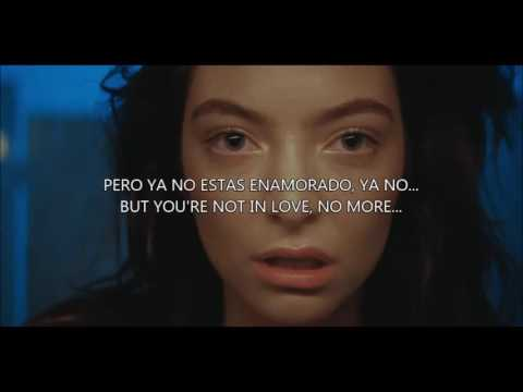 Green Light - Lorde (Sub.Español / Lyrics)