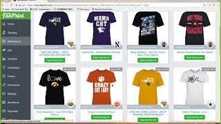 Bài 7| T-Shirt Design | Hướng dẫn kiếm tiền với thiết kế áo thun