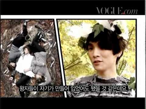 Seohyun and SHINee Vogue Swan Lake