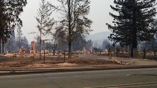 Santa Rosa fire: Mark West Springs Road