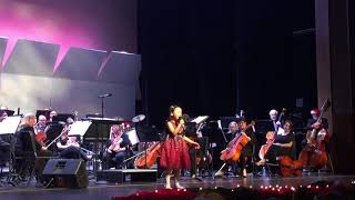 #MaleaEmma (6 years old) singing Have Yourself A Merry Little Christmas at Temecula Valley Symphony
