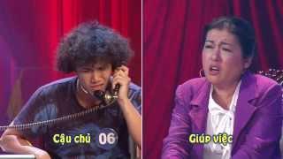"""Cười Xuyên Việt - Chung kết 2 (1/5/2015) - Phần thi """"Gọi điện cho Giám khảo"""""""