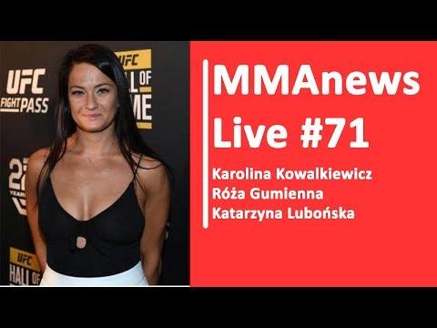 MMAnews Live #71: Kowalkiewicz, Gumienna, Lubońska dzisiaj od 9:20