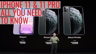iPhone 11 and 11 Pro Launch | Everything We Saw
