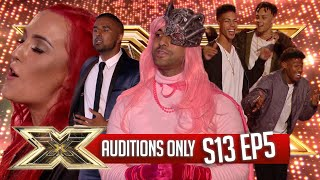 AUDITIONS ONLY! | EPISODE 5 | SERIES 13 | The X Factor UK