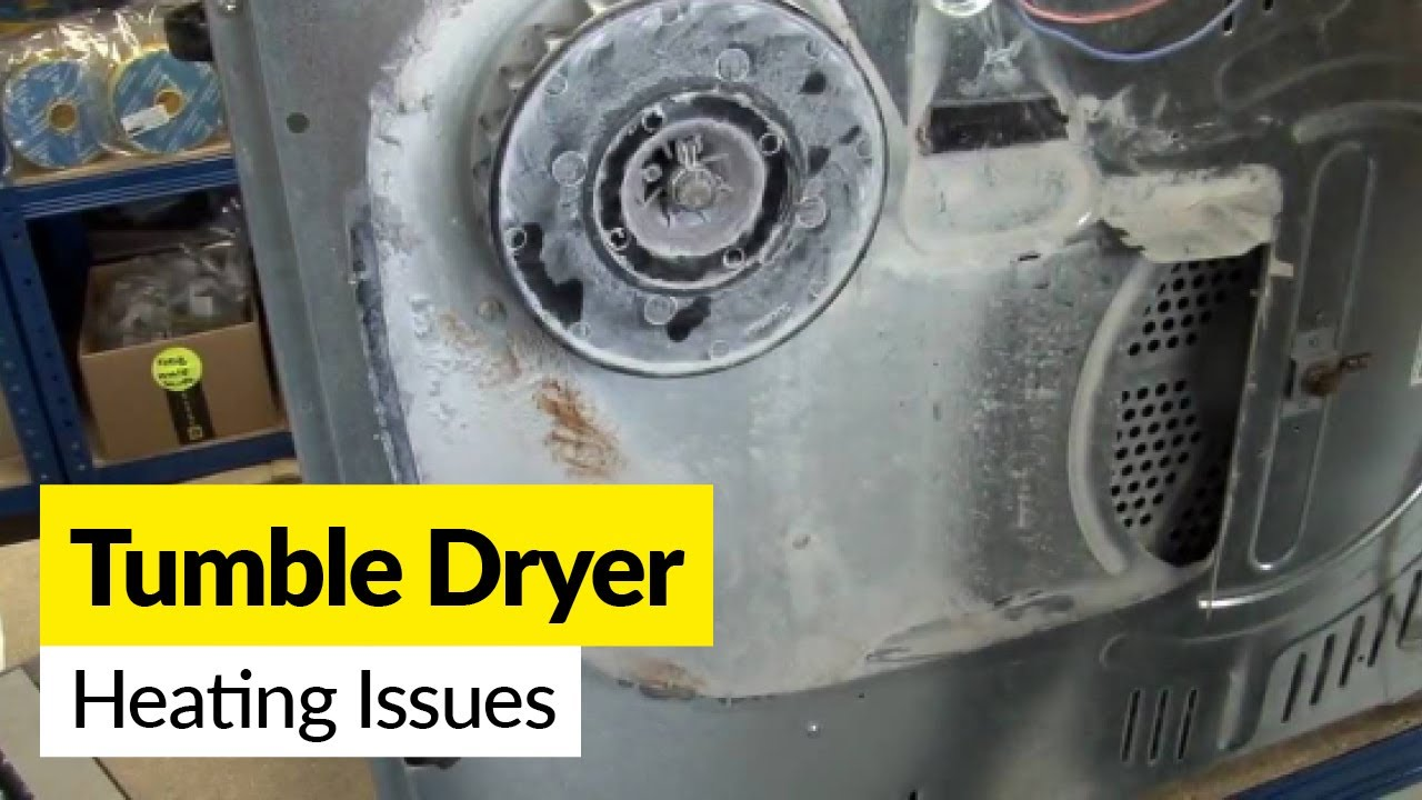 Dryer Problems How To Fix A Dryer That S Not Heating Up