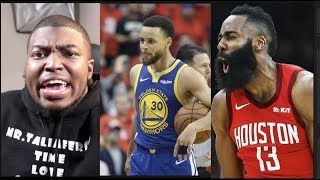 Golden State Warriors Vs Houston Rockets 2019 GM 6 -Curry Ends Harden, CP3 Season With 23 Point 4th