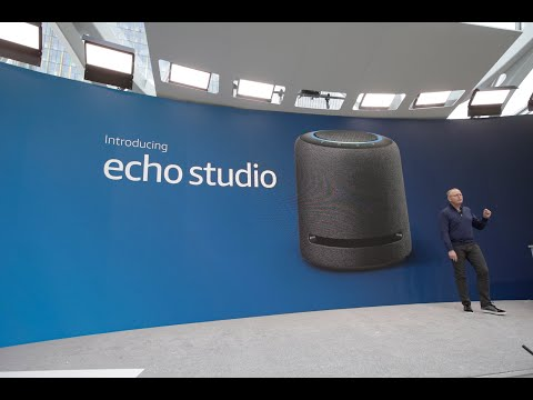 video Amazon Alexa Echo Studio