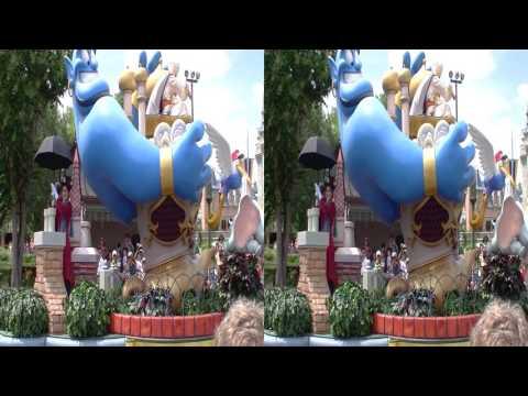 Celebrate A Dream Come True Parade 3D Red/cyan glasses Tribute - Magic Kingdom - Walt Disney World
